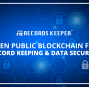RecordsKeeper Token Distribution Cancellation Announcement